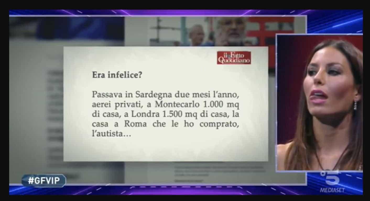 """Al Gf VIP 5 arrivano gli avvocati di Flavio Briatore, Elisabetta Gregoraci minacciosa: """"Ora vomito tutto"""""""