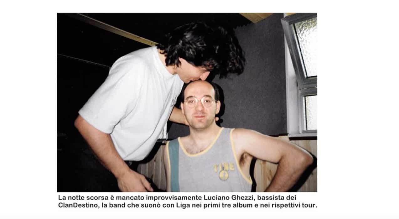 Ligabue: è morto lo storico bassista, il commosso addio a Luciano Ghezzi