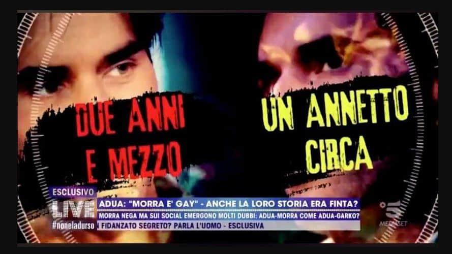 Adua e Massimiliano Morra: tutte le contraddizioni di lui, la cronologia di questo amore è inesistente
