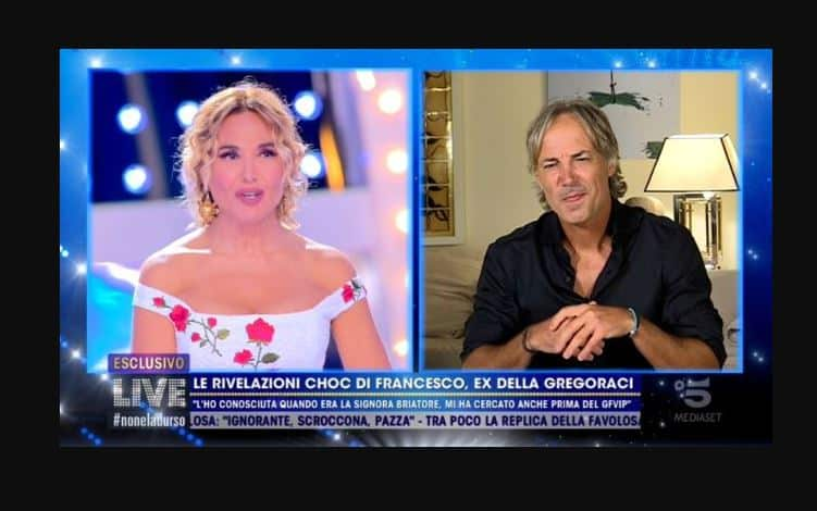Francesco l'x fidanzato di Elisabetta Gregoraci a Non è la d'Urso: le date sono quelle giuste?