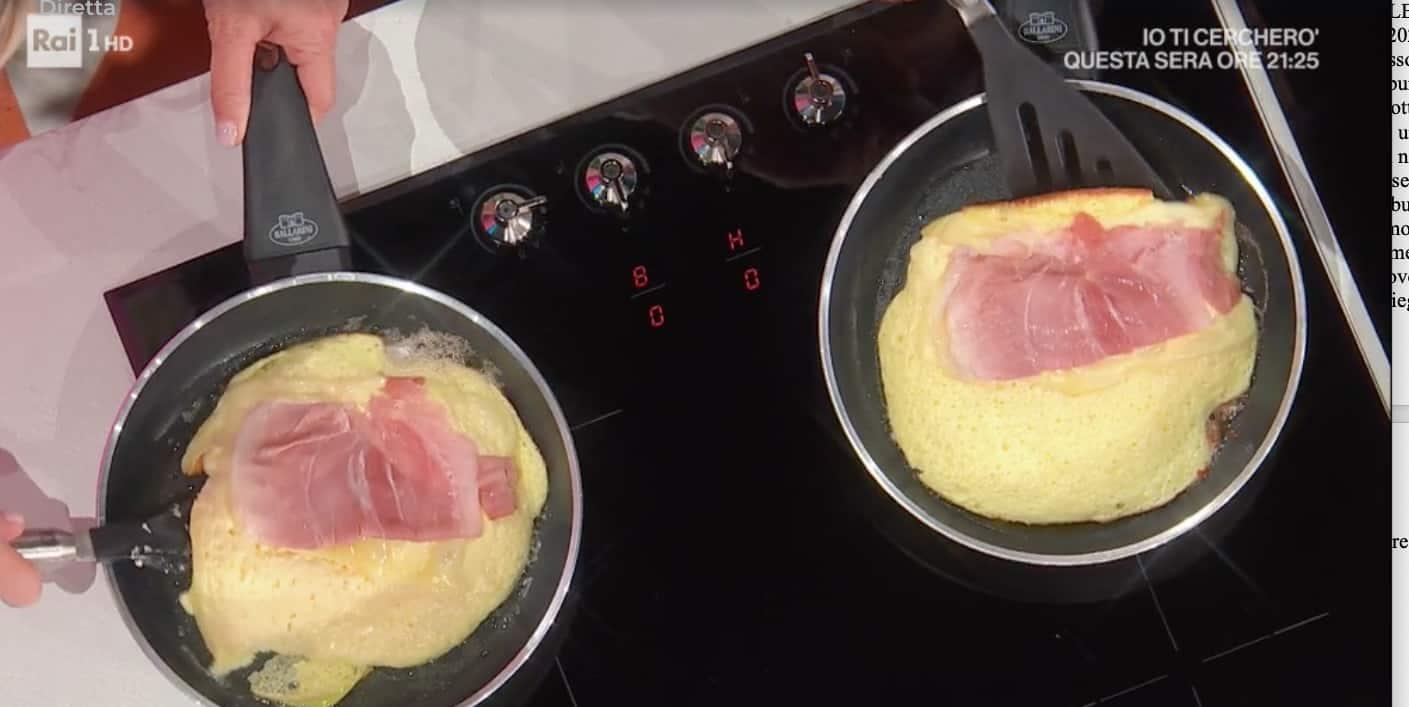 Omelette soffice la ricetta di Hiro Shoda da E' sempre mezzogiorno (Foto)