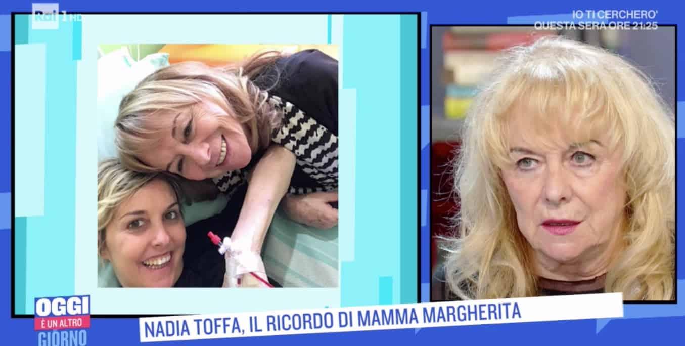 Margherita Toffa ricorda le operazioni, il fidanzato di Nadia, le sue poesie
