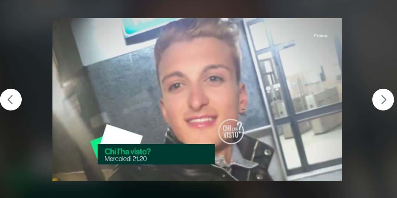 E' stato ritrovato Luigi Celentano detto Giggino Wifi: l'annuncio della mamma