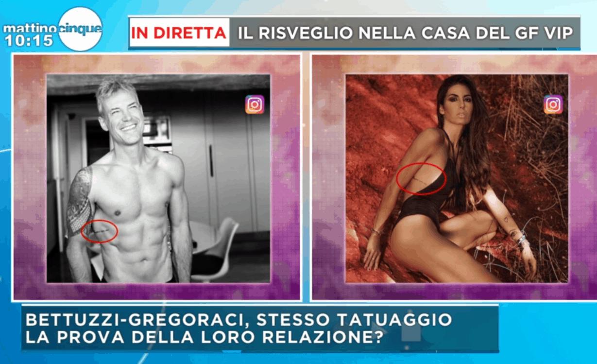 Elisabetta Gregoraci e Francesco Bettuzzi, storia seria? Tatuaggio in comune con scritto 'Sempre con me'