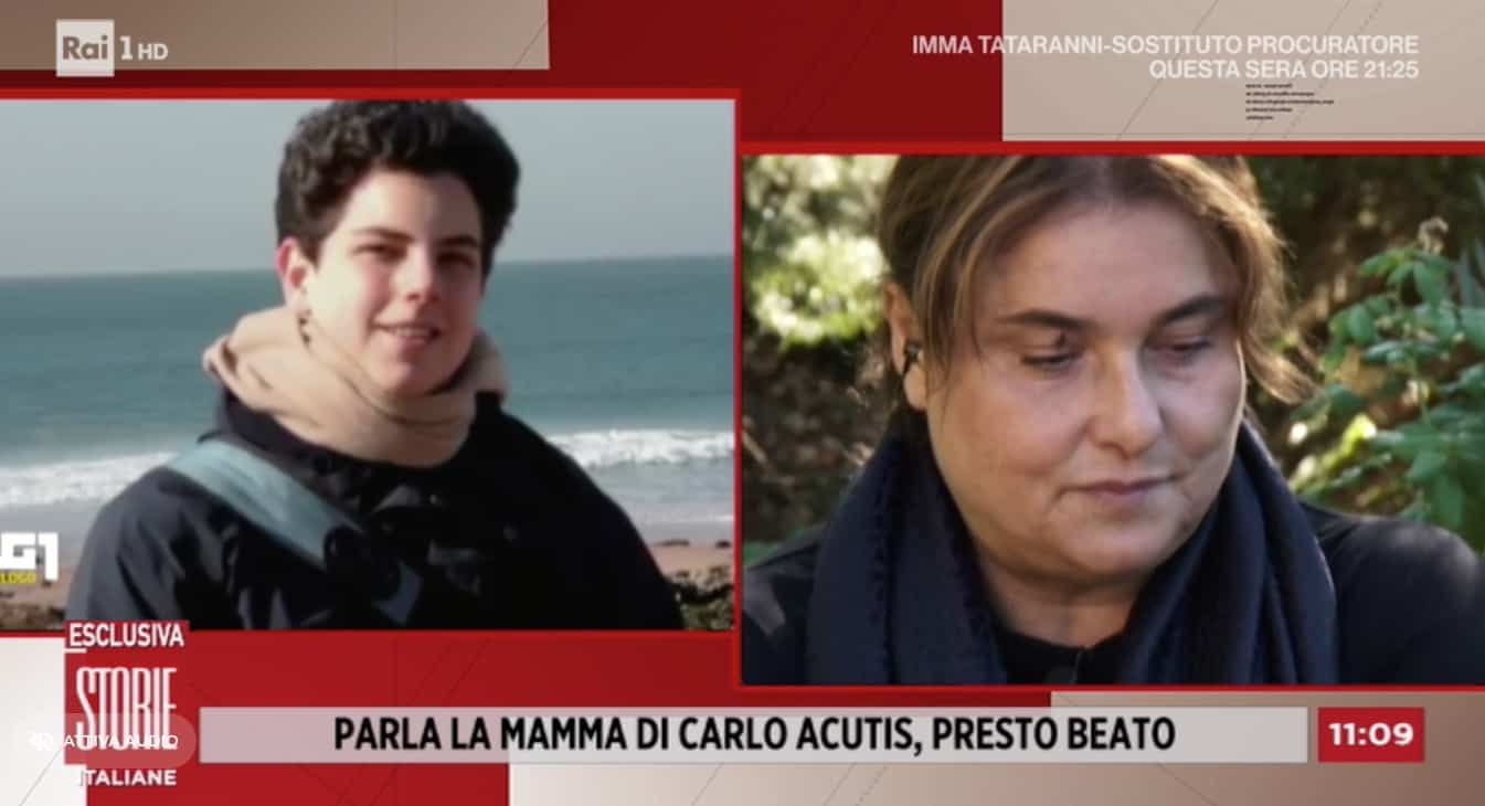 La mamma di Carlo Acutis a Storie Italiane: il 10 ottobre verrà beatificato