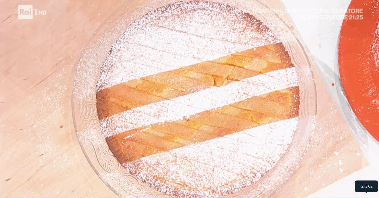 La ricetta della crostata carote e limone di zia Cri da E' sempre mezzogiorno