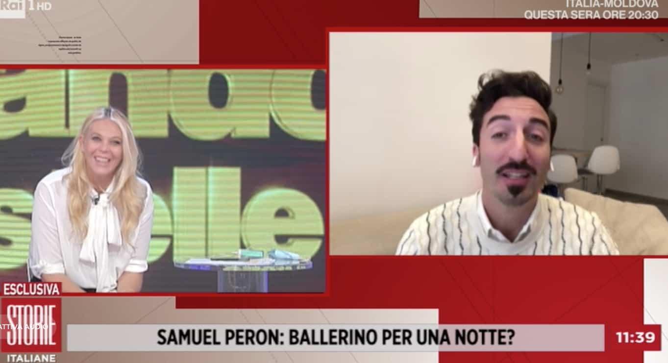 Samuel Peron negativo al secondo tampone, sarà ballerino per una notte con Milly Carlucci (Foto)