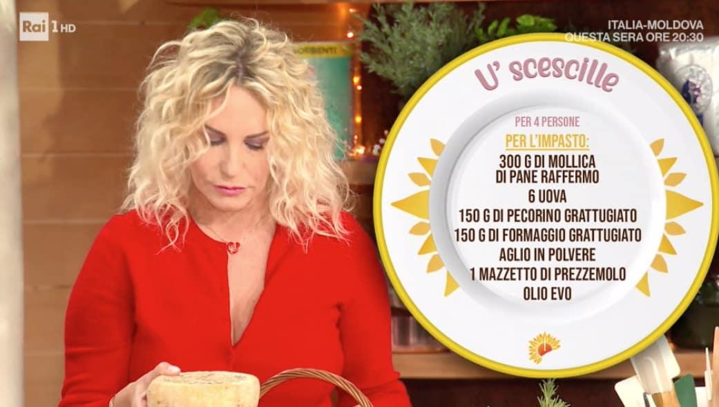 U' scescille, la ricetta di Lorenzo Biagiarelli per E' sempre mezzogiorno