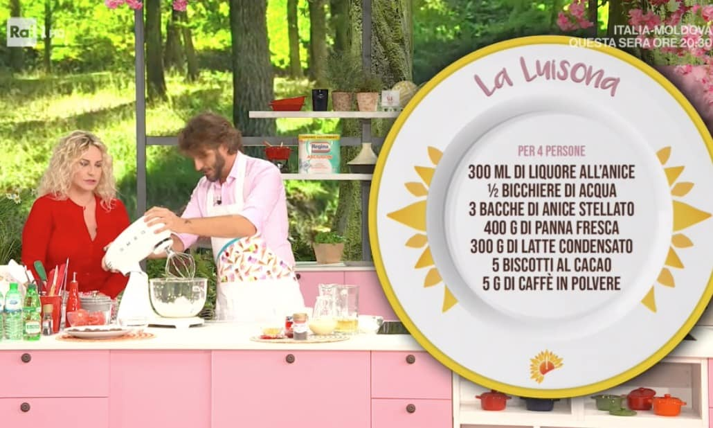 Max Scotti prepara il gelato senza gelatiera per le ricette E' sempre mezzogiorno