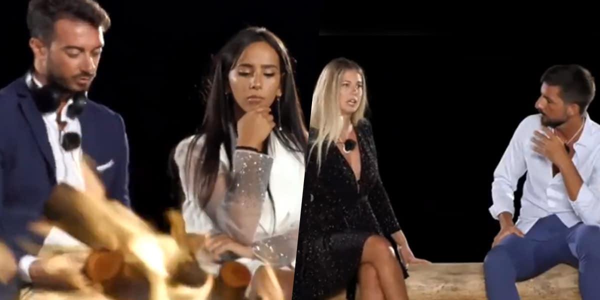 Temptation Island 2020: doppio falò anticipato, ecco com'è finita fra Serena, Davide, Nadia e Antonio