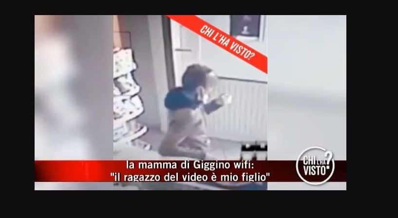 Luigi Celentano ultime notizie: la mamma è convinta che nel video sia lui, Chi l'ha visto cerca ancora