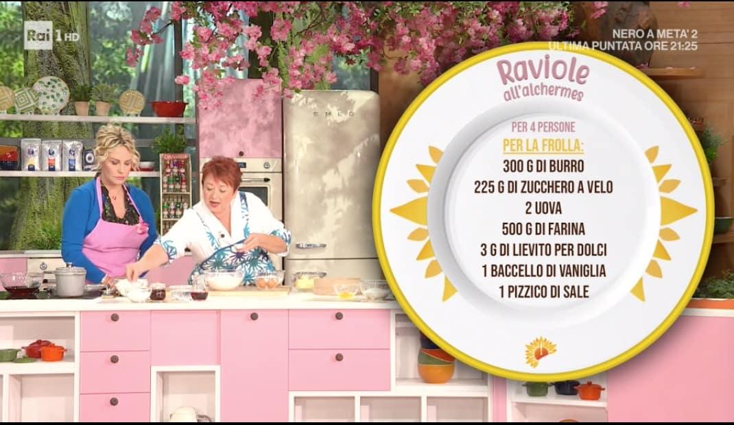 Raviole all'alchermes di Zia Cri, la ricetta E' sempre mezzogiorno