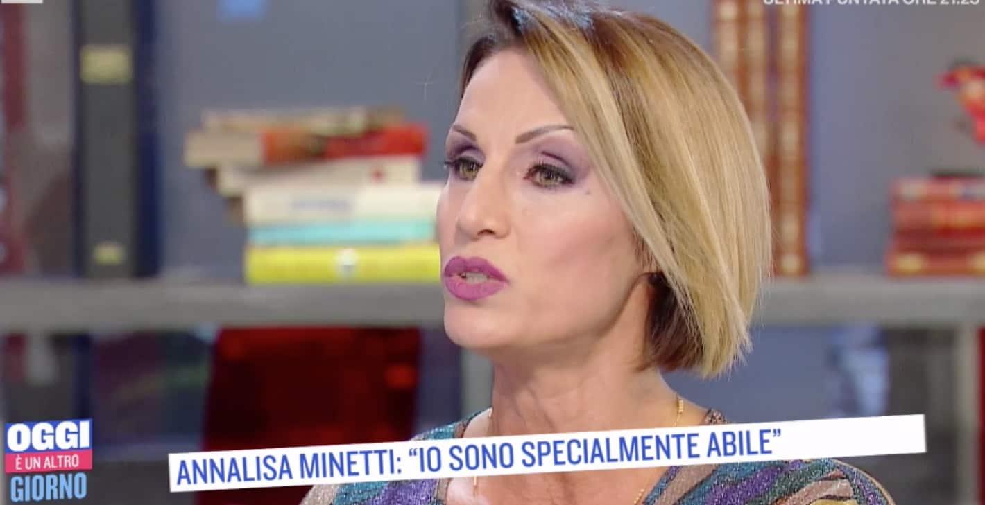 Annalisa Minetti ricorda quando ha pensato al suicidio (Foto)