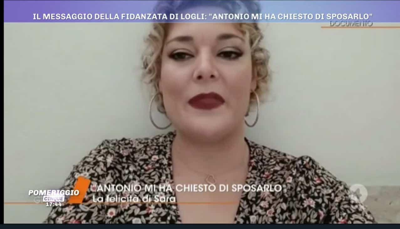 """La lettera di Sara Calzolaio a Pomeriggio 5: """"Io minacciata per il matrimonio con Logli"""""""
