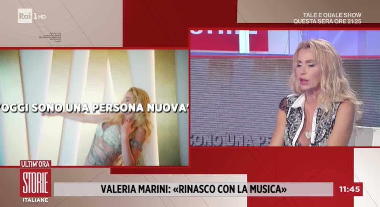 Valeria Marini a Storie Italiane tra Boom e le bugie che dice sulla sua vita privata (Foto)
