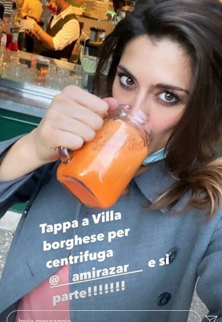 I chili persi da Elisa Isoardi grazie a Ballando con le Stelle ma non alla dieta (Foto)