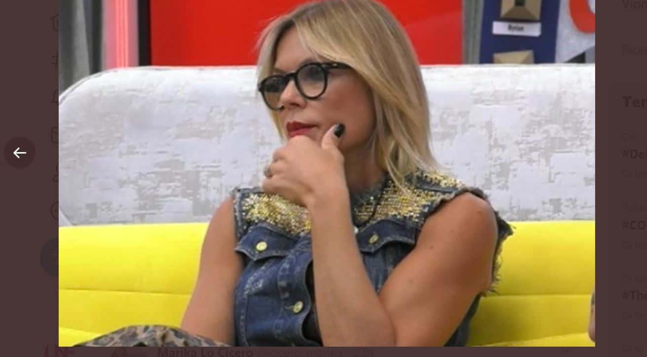 Anche Matilde Brandi fa uno scivolone usando termine omofobo: i sermoni di Signorini non bastano
