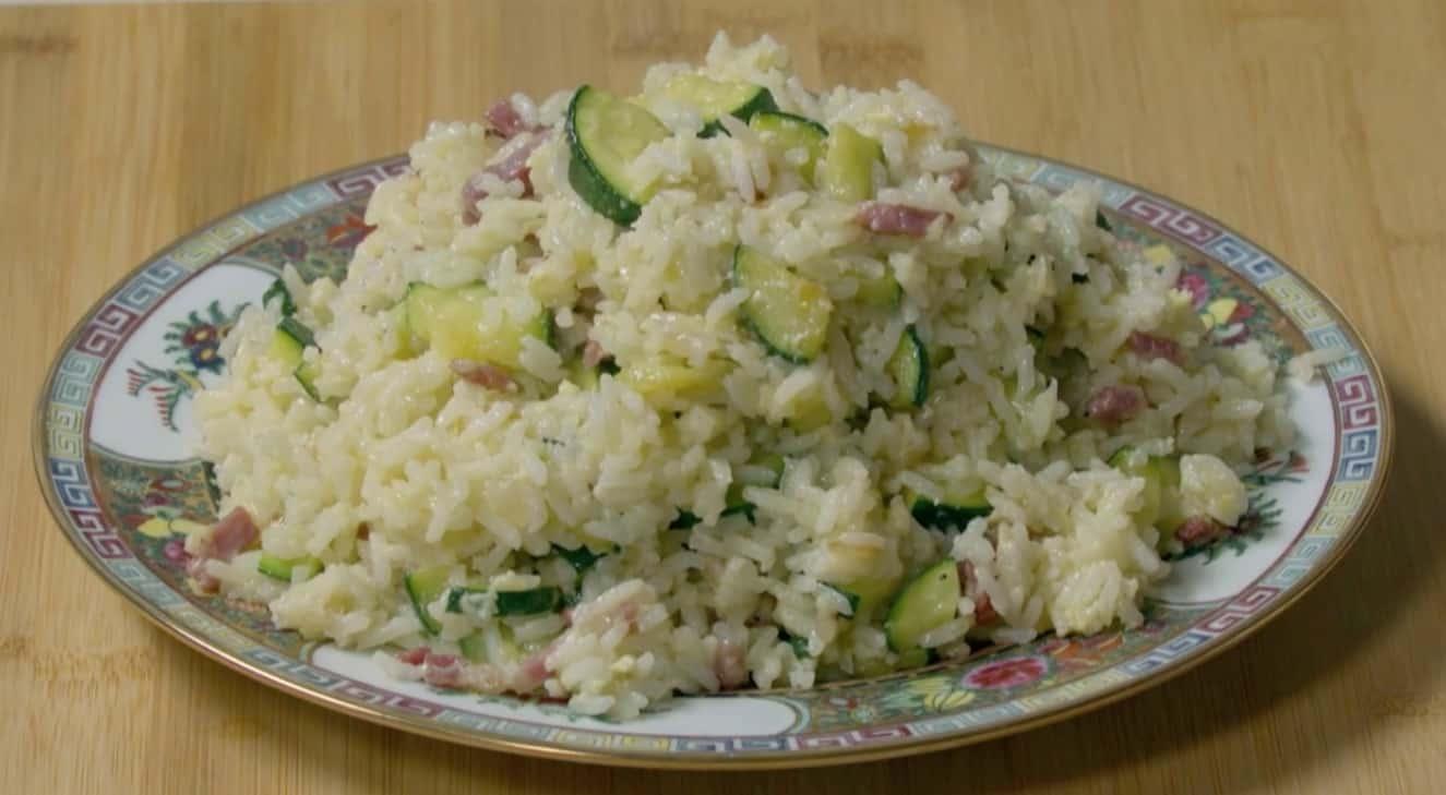 La ricetta del riso alla carbonese del marito di Benedetta Rossi