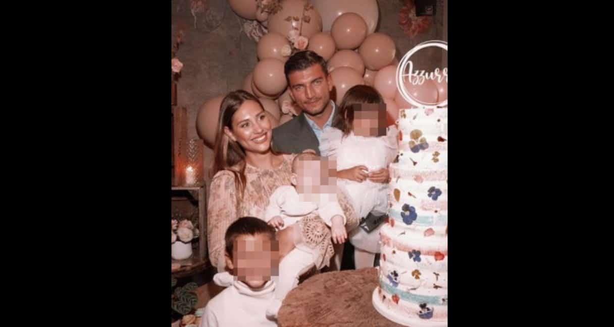 Il battesimo di Azzurra: Beatrice Valli e Marco Fantini hanno organizzato una festa speciale (Foto)