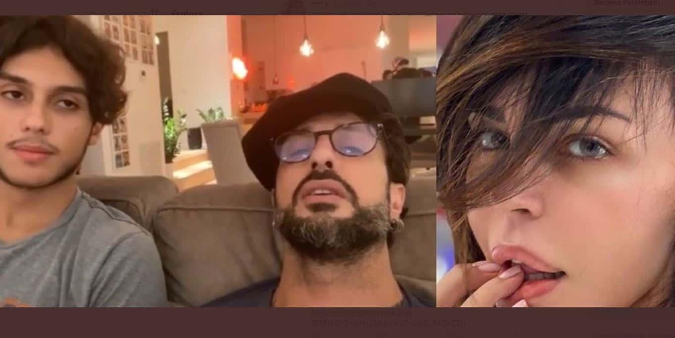 """La telefonata choc tra Corona e Nina Moric, Fabrizio: """"prenderti la testa e fracassartela in modo da ucciderti"""""""