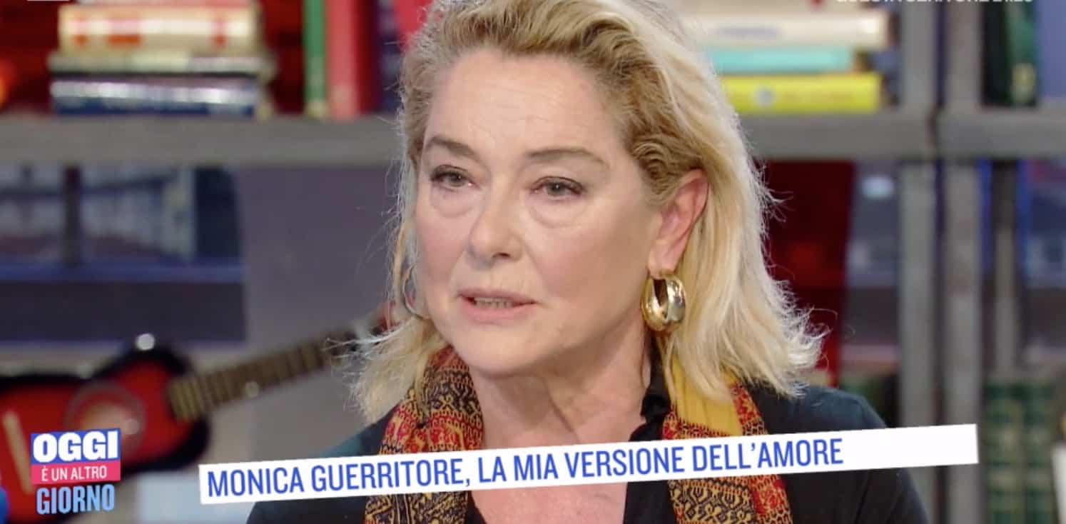 Monica Guerritore felice con Roberto Zaccaria ricorda la maleducazione di Giancarlo Giannini