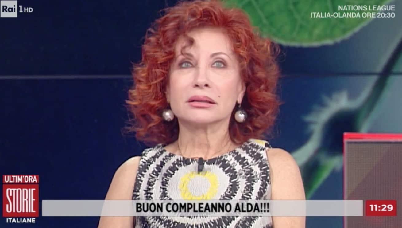 Alda D'Eusanio morta e rinata, a Storie Italiane un compleanno speciale (Foto)