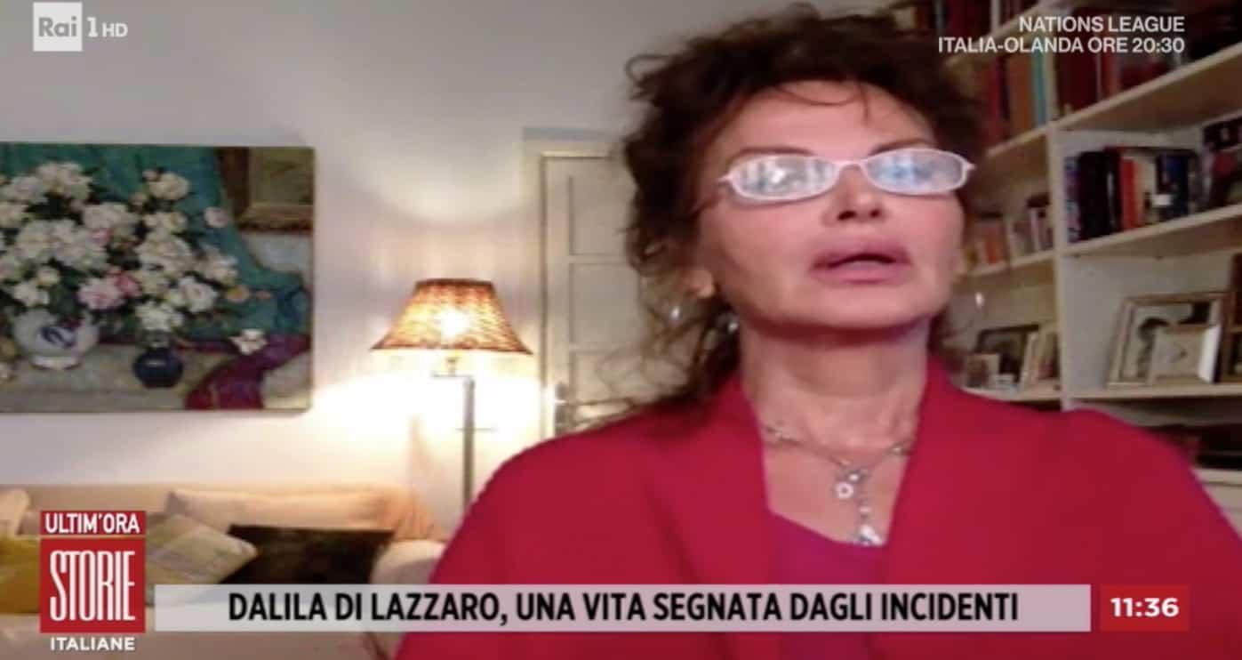 """Dalila di Lazzaro a Storie Italiane: """"E' una cosa terribile dipendere da qualcuno"""" (Foto)"""