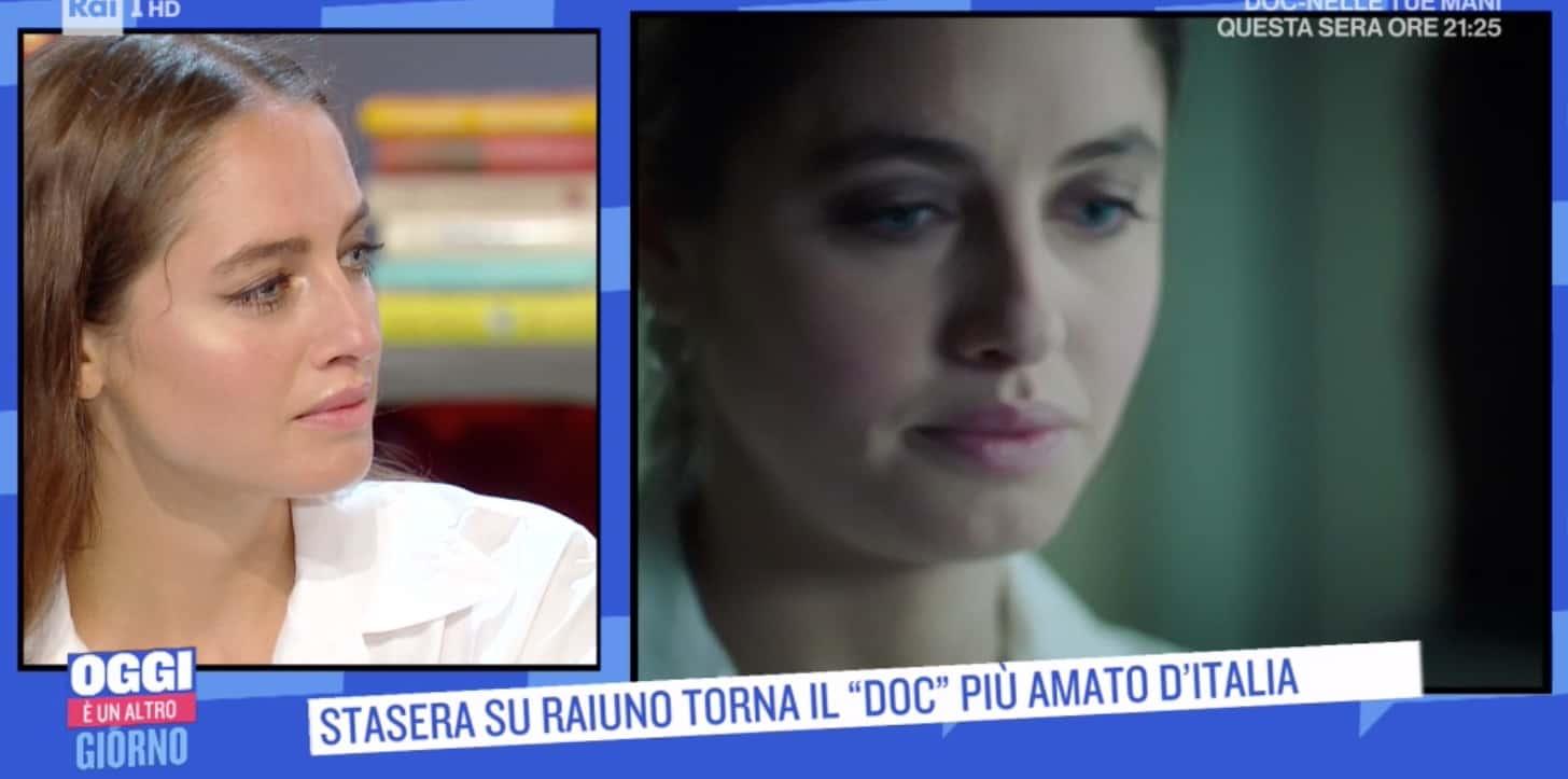 Matilde Gioli racconta del gravissimo incidente alla schiena, stasera la rivedremo in Doc (Foto)