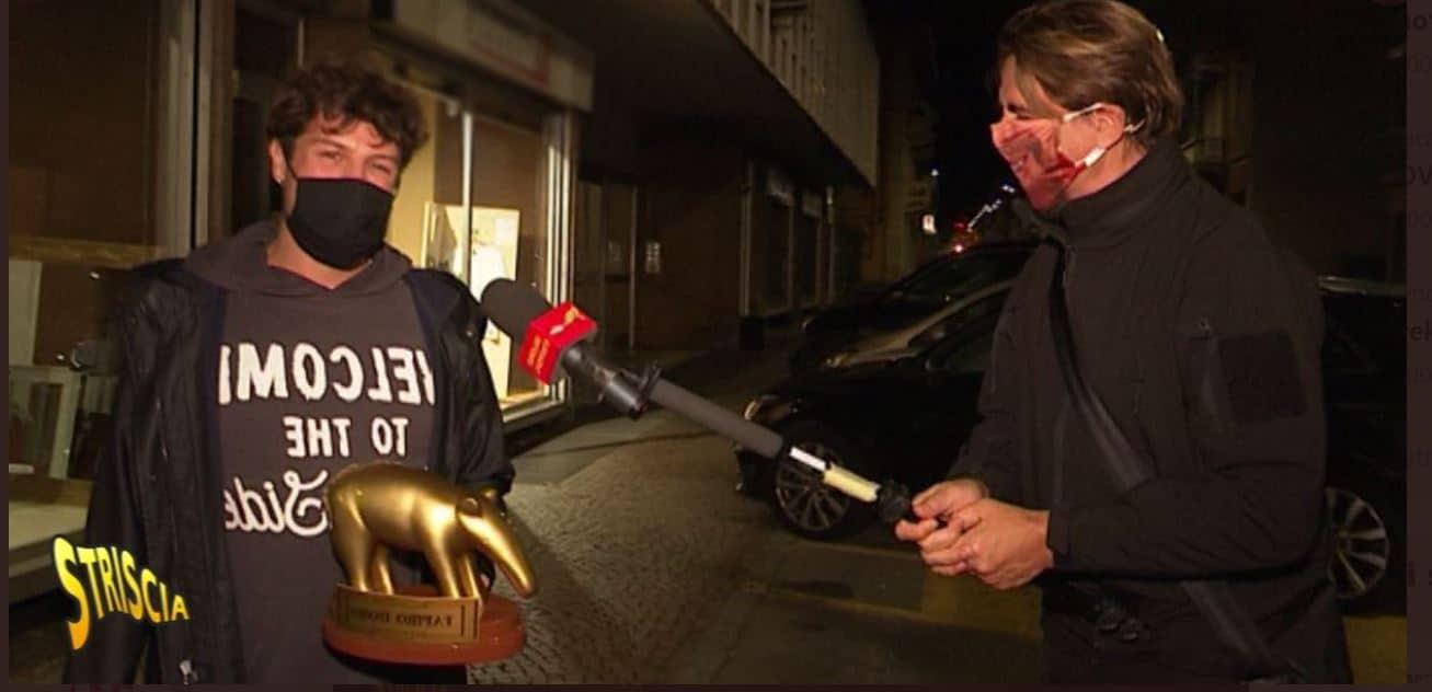 Tapiro d'oro per Iconize dopo lo scandalo della finta aggressione omofoba