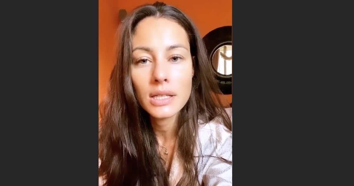 Marica Pellegrinelli positiva al covid spiega i sintomi (Foto)