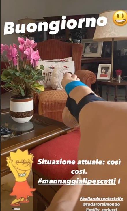 Problemi per Elisa Isoardi a Ballando con le Stelle, questa volta è il tendine di Achille (Foto)
