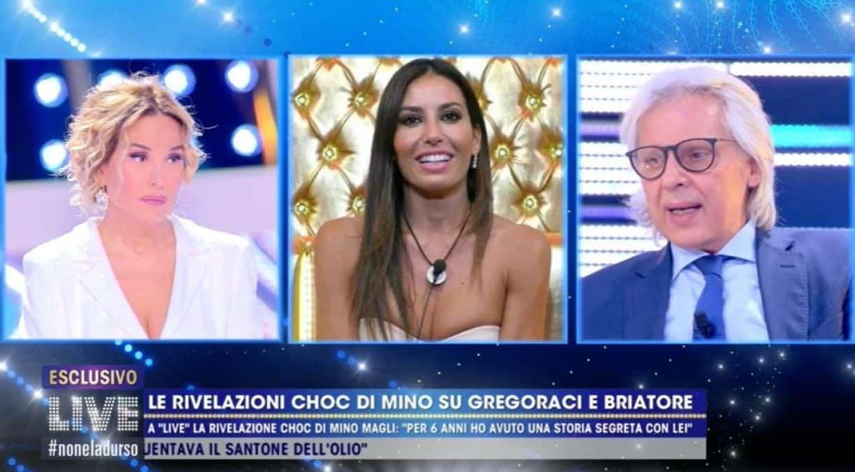 """Le rivelazioni di Mino Magli a Live: """"Per 6 anni una storia segreta con Elisabetta Gregoraci"""""""