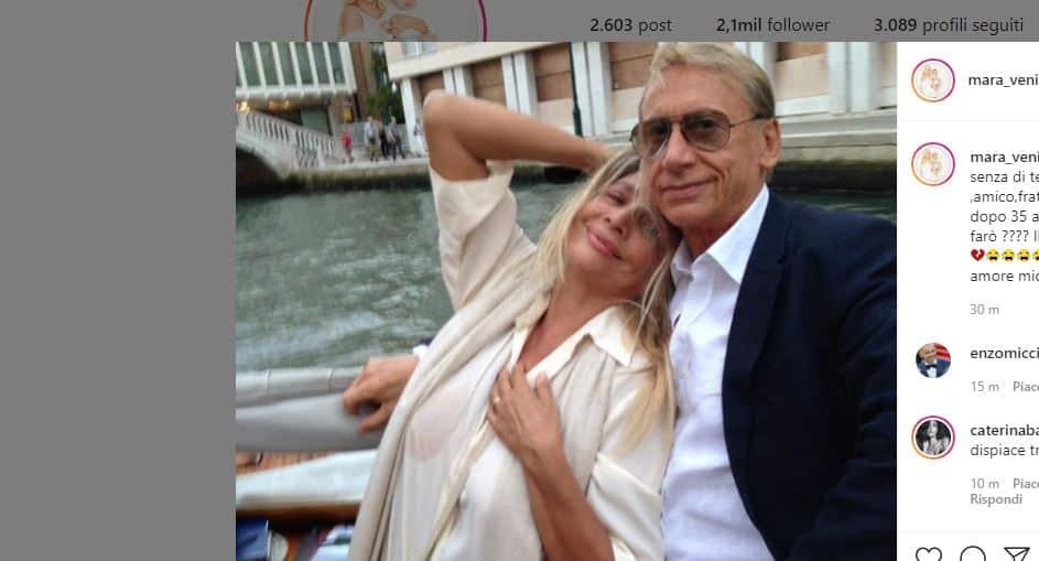 Lo strazio di Mara Venier per la morte di Gianni Dei: ieri lo aveva salutato da Domenica IN