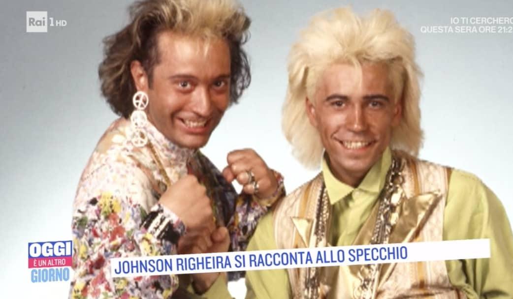 Johnson Righeira si racconta ma non ha più notizie di Michael (Foto)