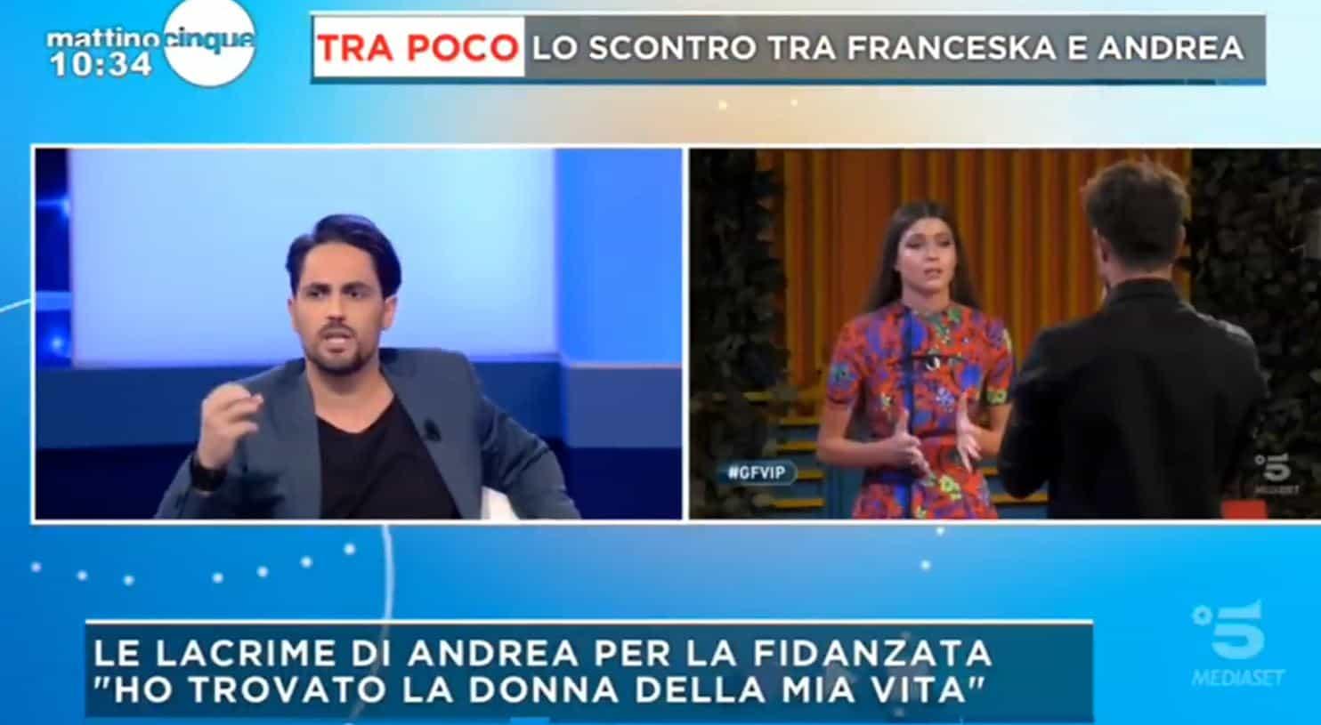 Alice Fabbrica tampinata da Andrea Zelletta: da Mattino 5 a DiPiu' arrivano rivelazioni