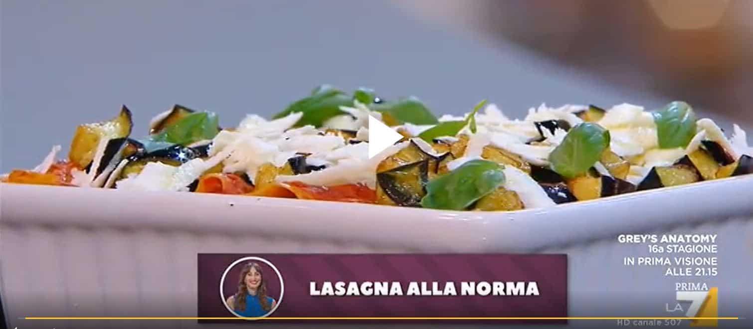 Nuove ricette Benedetta Parodi: facciamo la lasagna alla norma