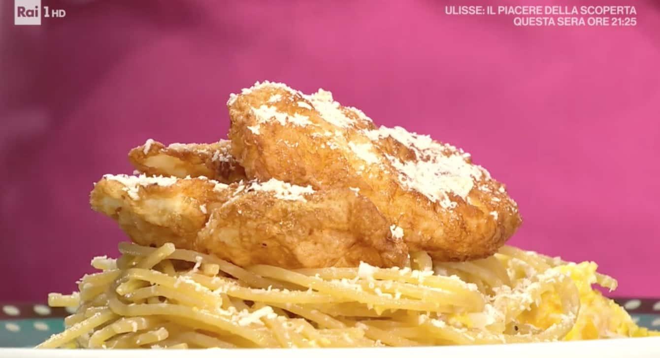 Spaghetti d'o puveriello, la ricetta di Lorenzo Biagiarelli per E' sempre mezzogiorno (Foto)
