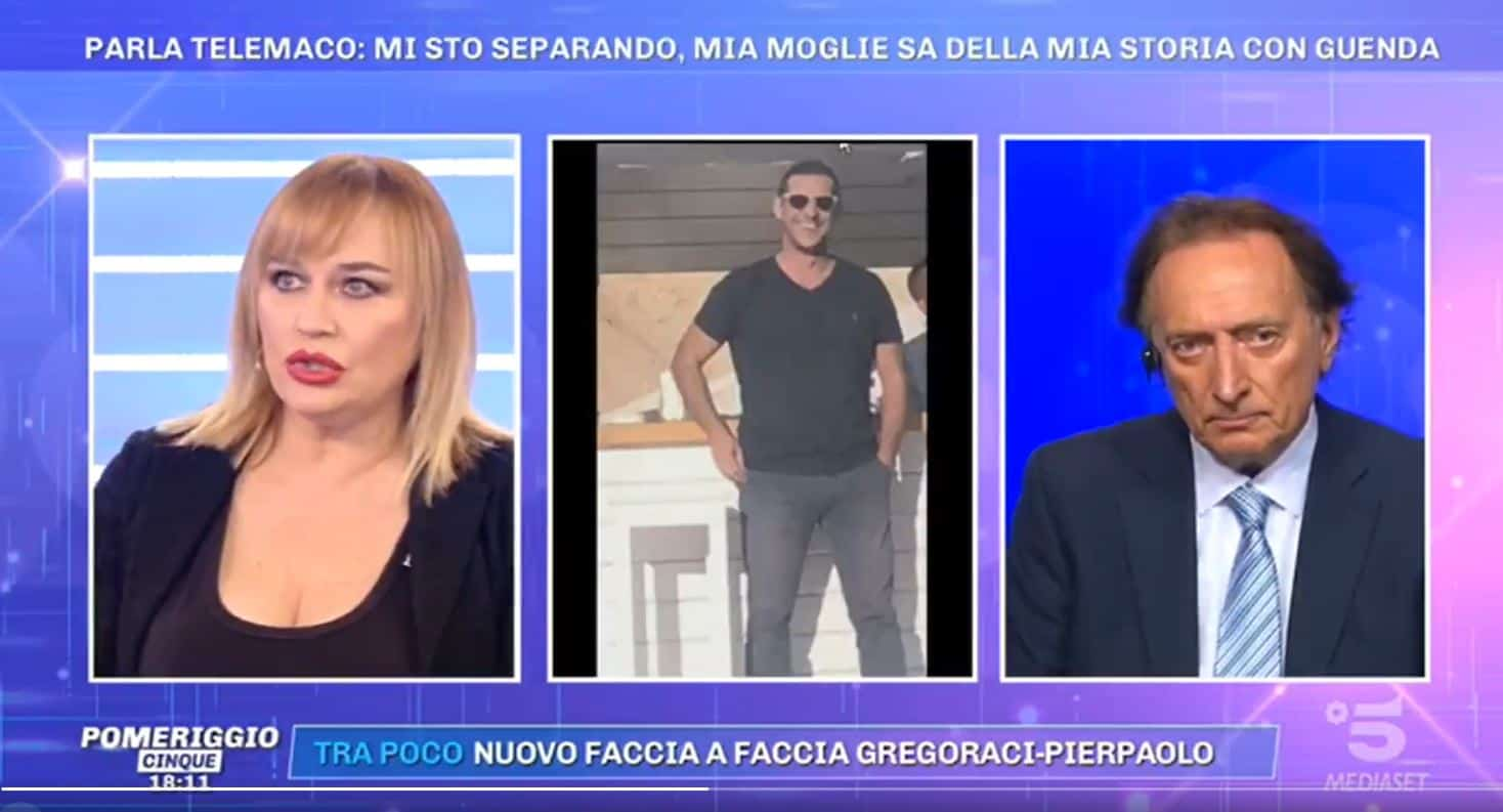 """Eva Henger da Pomeriggio 5: """"Telemaco a Sharm con la sua ex, ci stanno riprovando"""""""