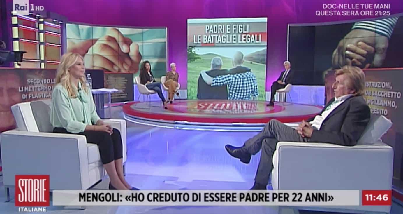 A Storie Italiane Paolo Mengoli: dalla figlia non ha più ricevuta una telefonata