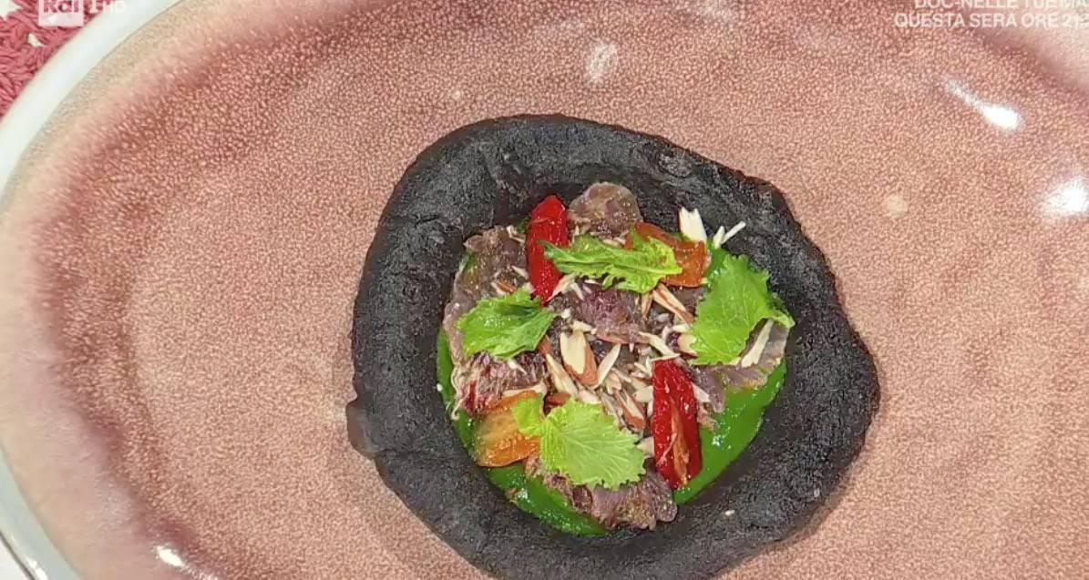 Pizzetta Vesuvio di Roberto di Pinto, le ricette di oggi di E' sempre mezzogiorno