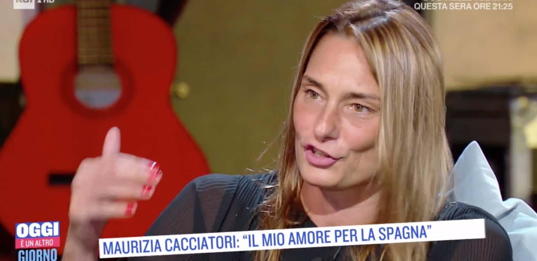"""Maurizia Cacciatori lasciò il fidanzato a pochi giorni dal matrimonio: """"Una prova di coraggio"""""""