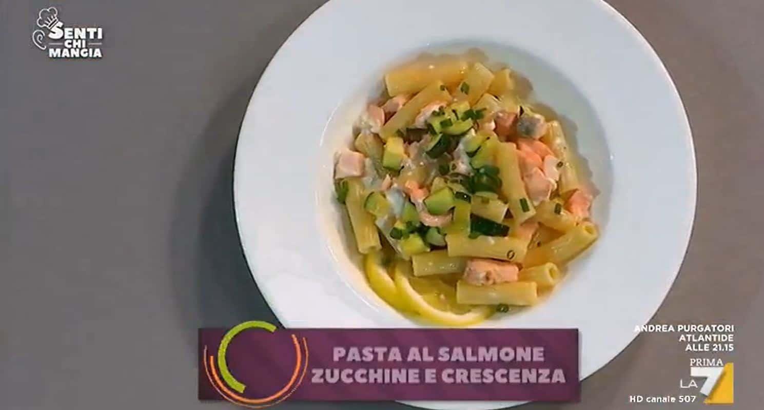Pasta con salmone, zucchine e crescenza di Benedetta Parodi