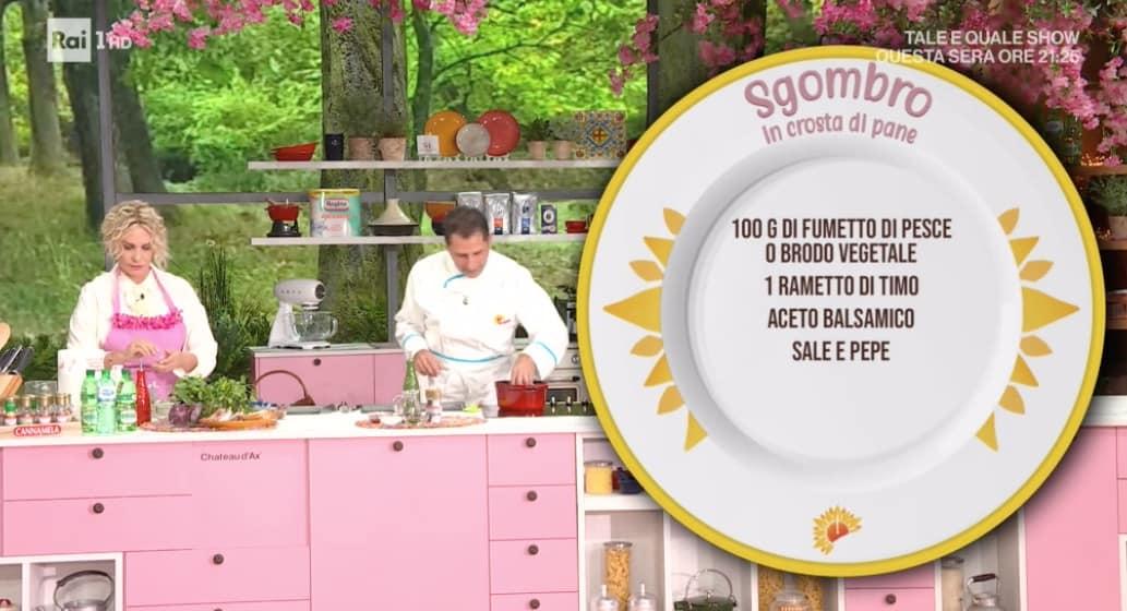 Sgombro in crosta di pane di Michele Farru, la ricetta sarda da E' sempre mezzogiorno (Foto)