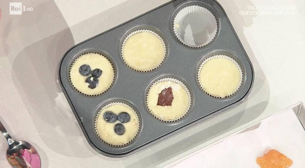 Sara Brancaccio, la ricetta dei muffins mille gusti per E' sempre mezzogiorno (Foto)