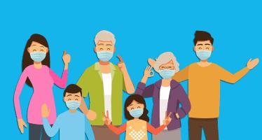 contagio nucleo familiare