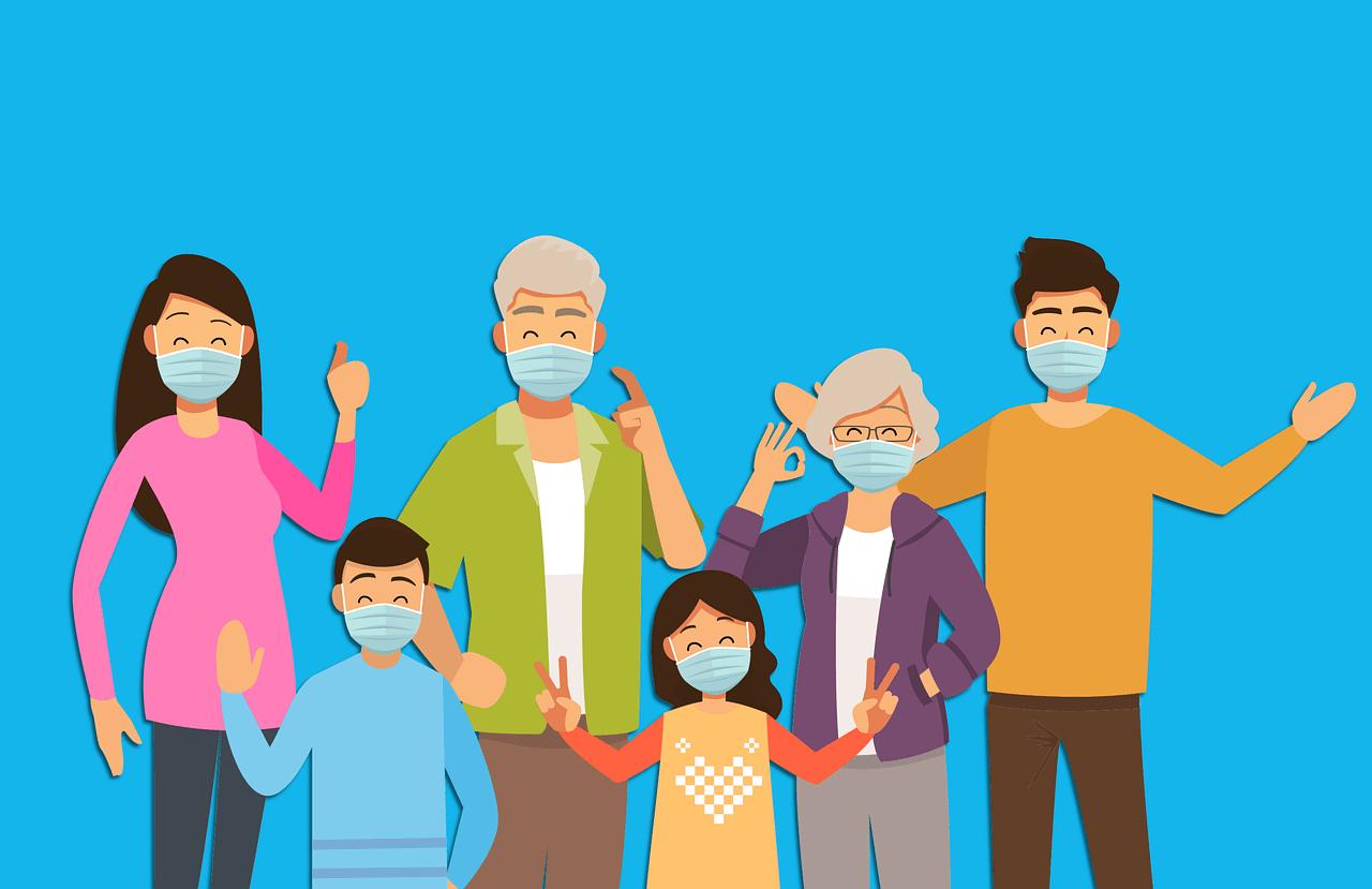 Covid 19: i consigli per non contagiarsi nel nucleo familiare