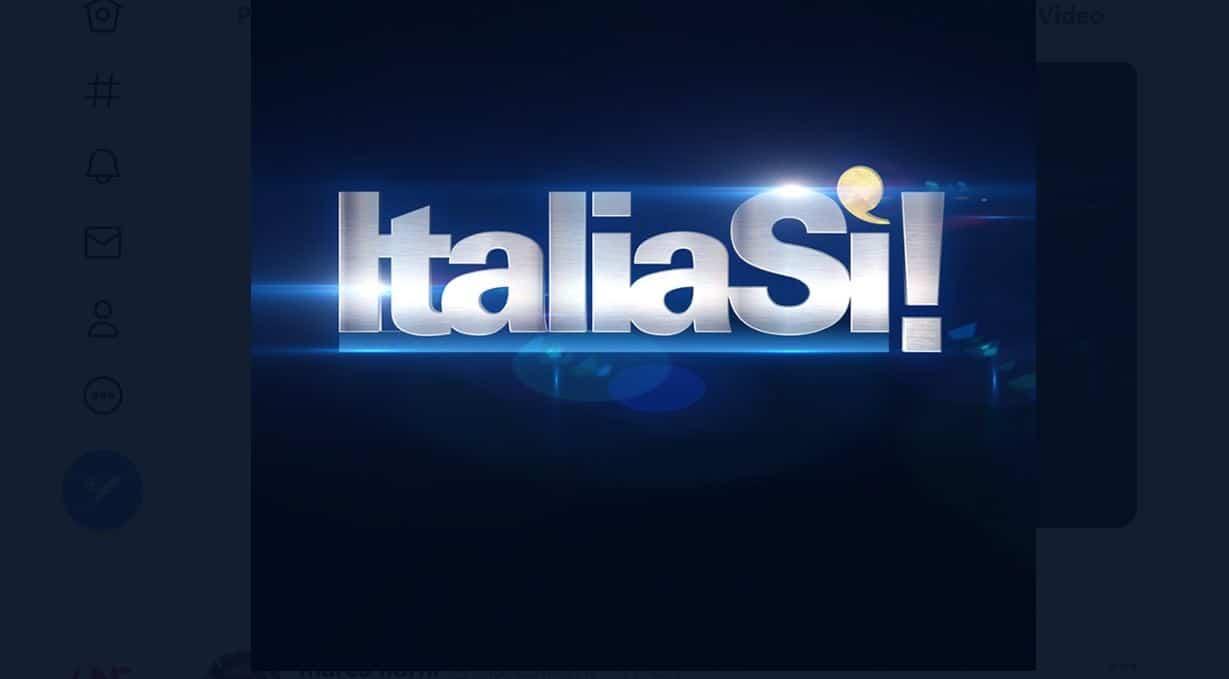Italia sì non va in onda in diretta ma in replica: le parole di Marco Liorni sui social