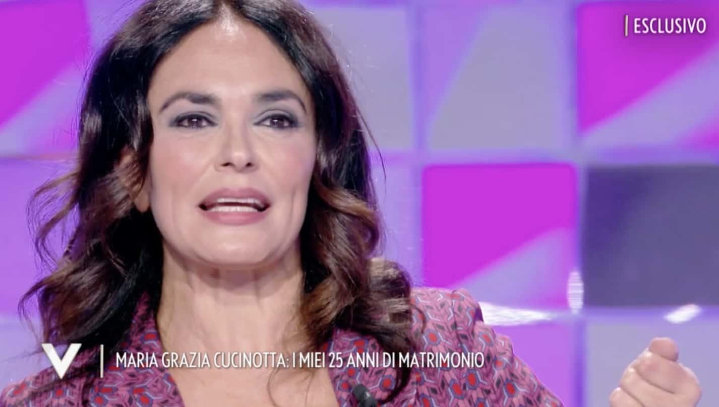 """Maria Grazia Cucinotta a Verissimo: """"Felice di svegliarmi viva la mattina"""" (Foto)"""