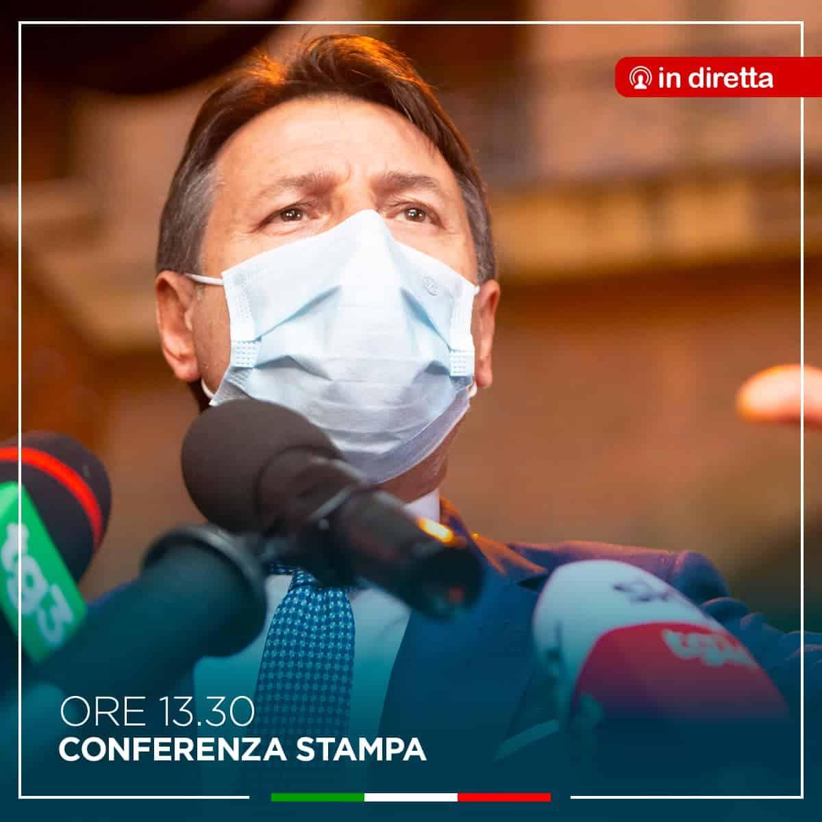 Attesa per oggi la conferenza stampa di Giuseppe Conte: i punti del nuovo Dpcm