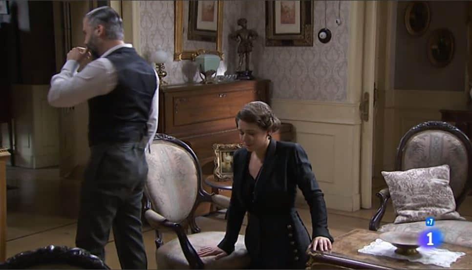 Una vita anticipazioni: Genoveva in ginocchio da Felipe, Marcia pronta ad andare via